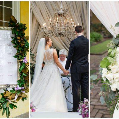 Romantic Charleston Wedding at Historic William Aiken House {Riverland Studios}