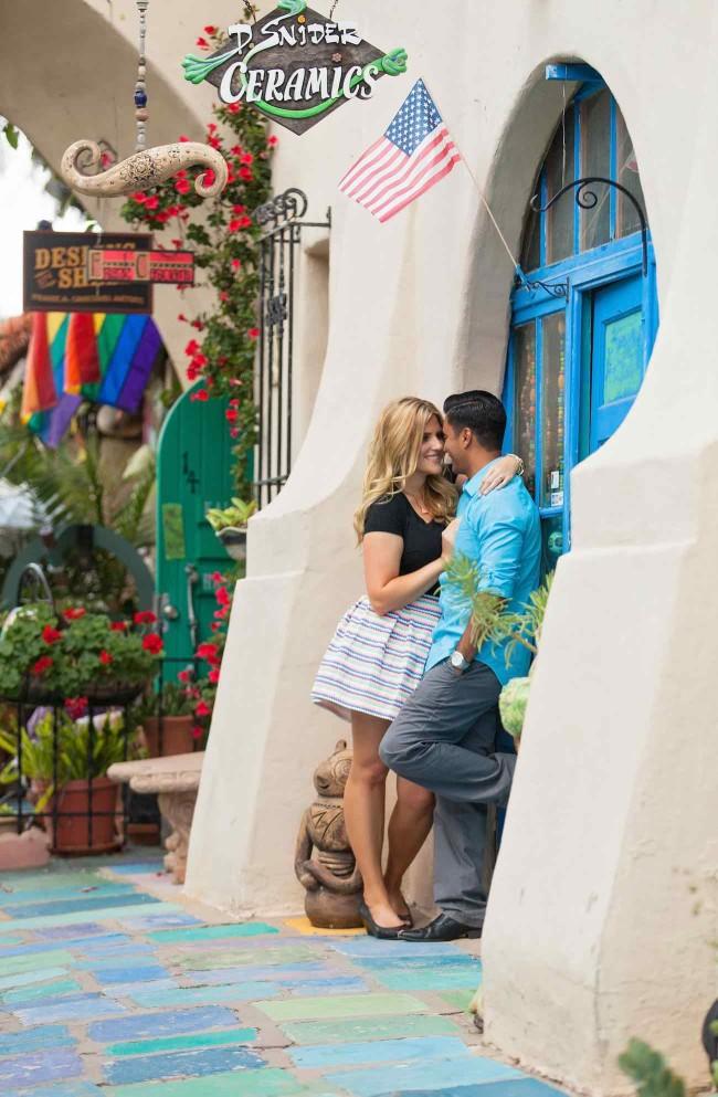 Colorful San Diego Engagement - Ryan Nicole Photography
