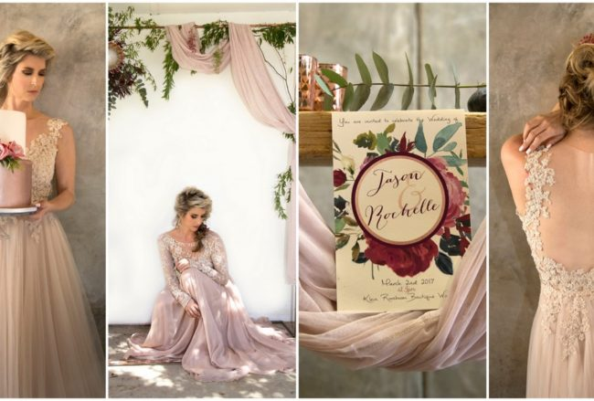 Decor + Details: Copper Burgundy and Blush Wedding {Mooi Photography}