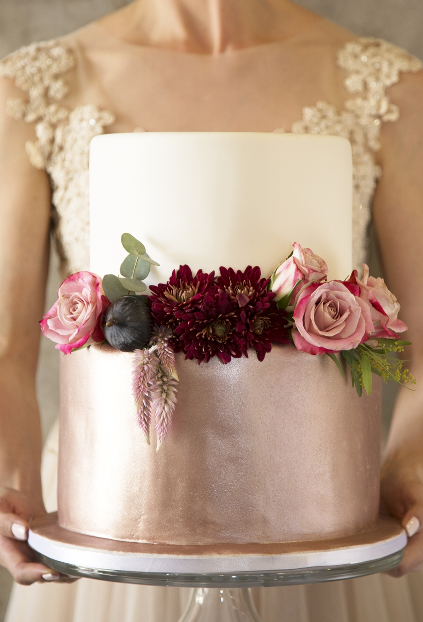 Decor Details Copper Burgundy And Blush Wedding Mooi
