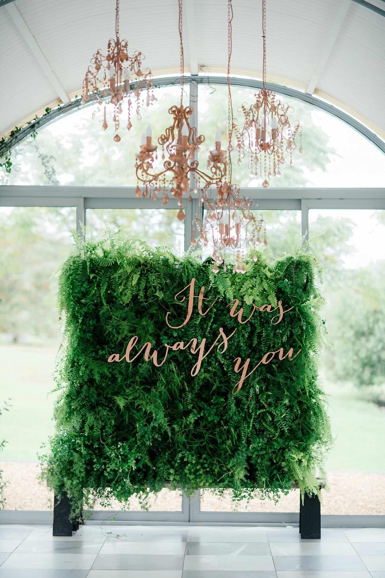 Romantic Copper Metallic & Blush Wedding Ideas