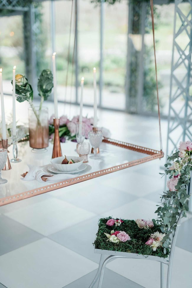 Romantic Copper Metallic & Blush Wedding Ideas