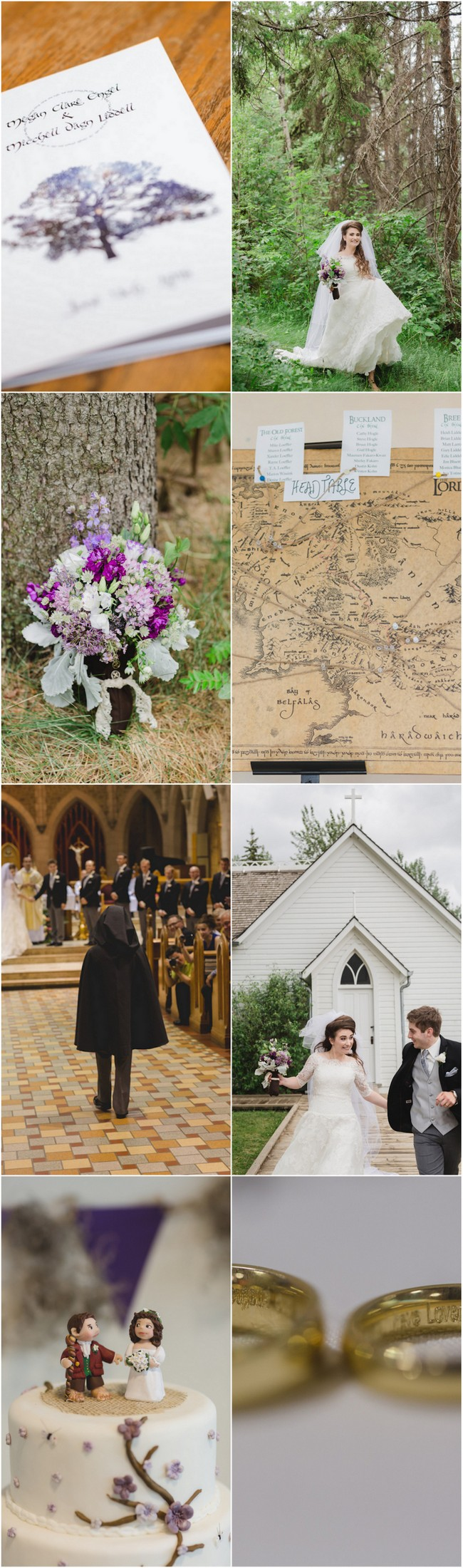 Creative JRR Tolkien Wedding 1