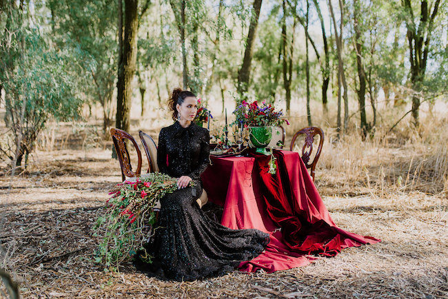 dramatic-black-and-red-forest-wedding-26