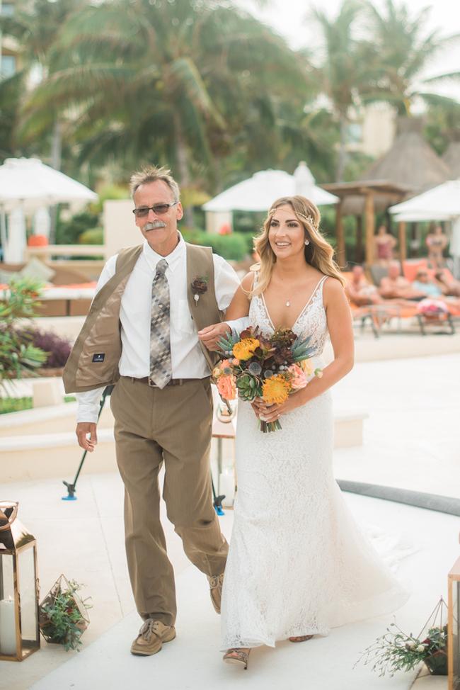 Dreams Riviera Cancun Mexico Wedding