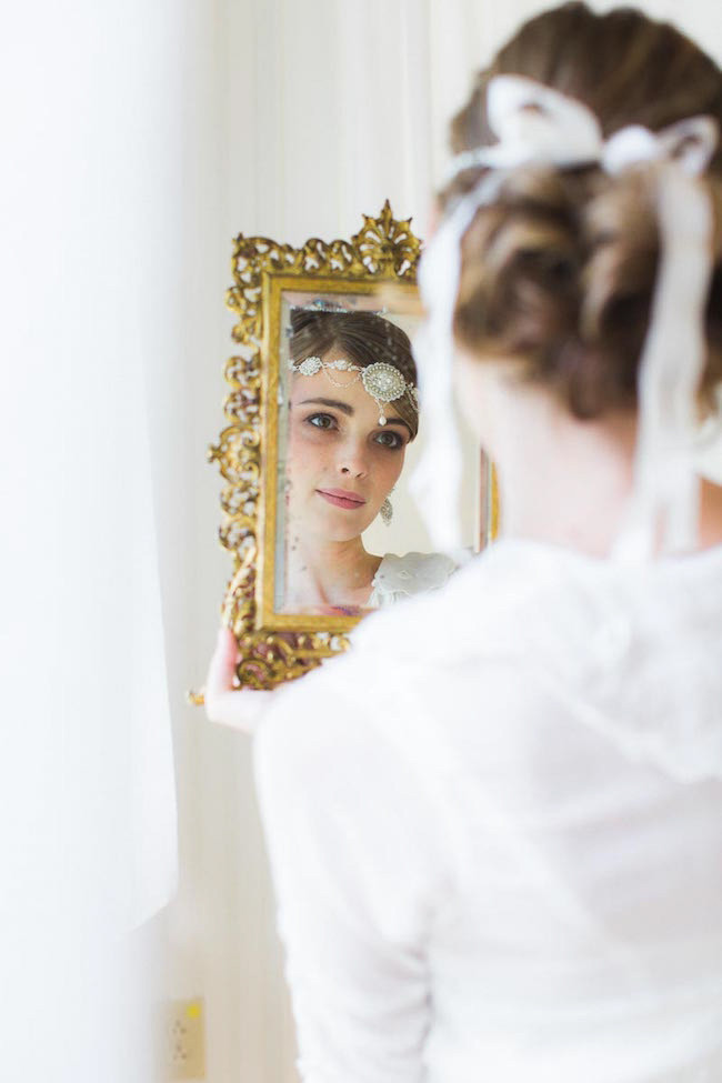 Edera Couture Lace Bridal Jewelry & Accessories // Ashley Largesse Photography