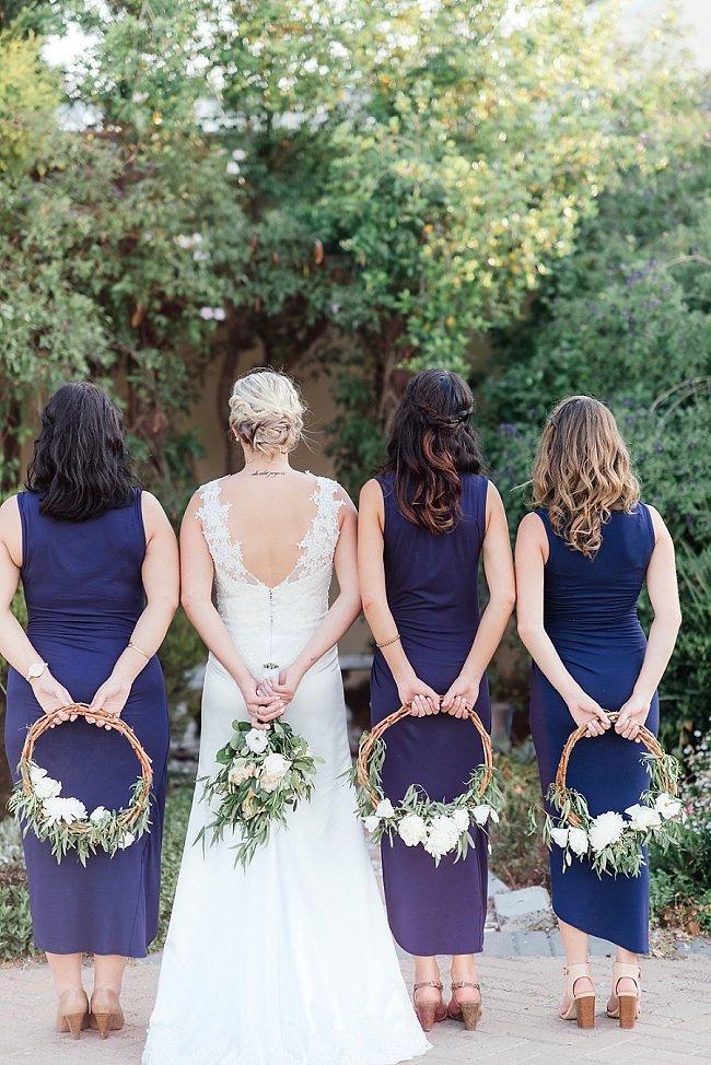 Bridesmaid Floral Wreaths