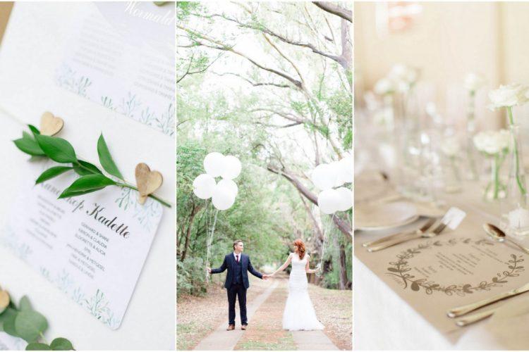 Elegant White + Green Wedding {Carolien & Ben Photography}