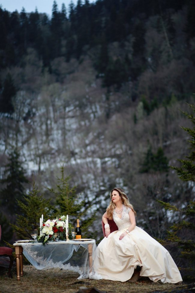 Elegant Smoky Mountain Wedding Anniversary - Jessica Lee Photographic Art
