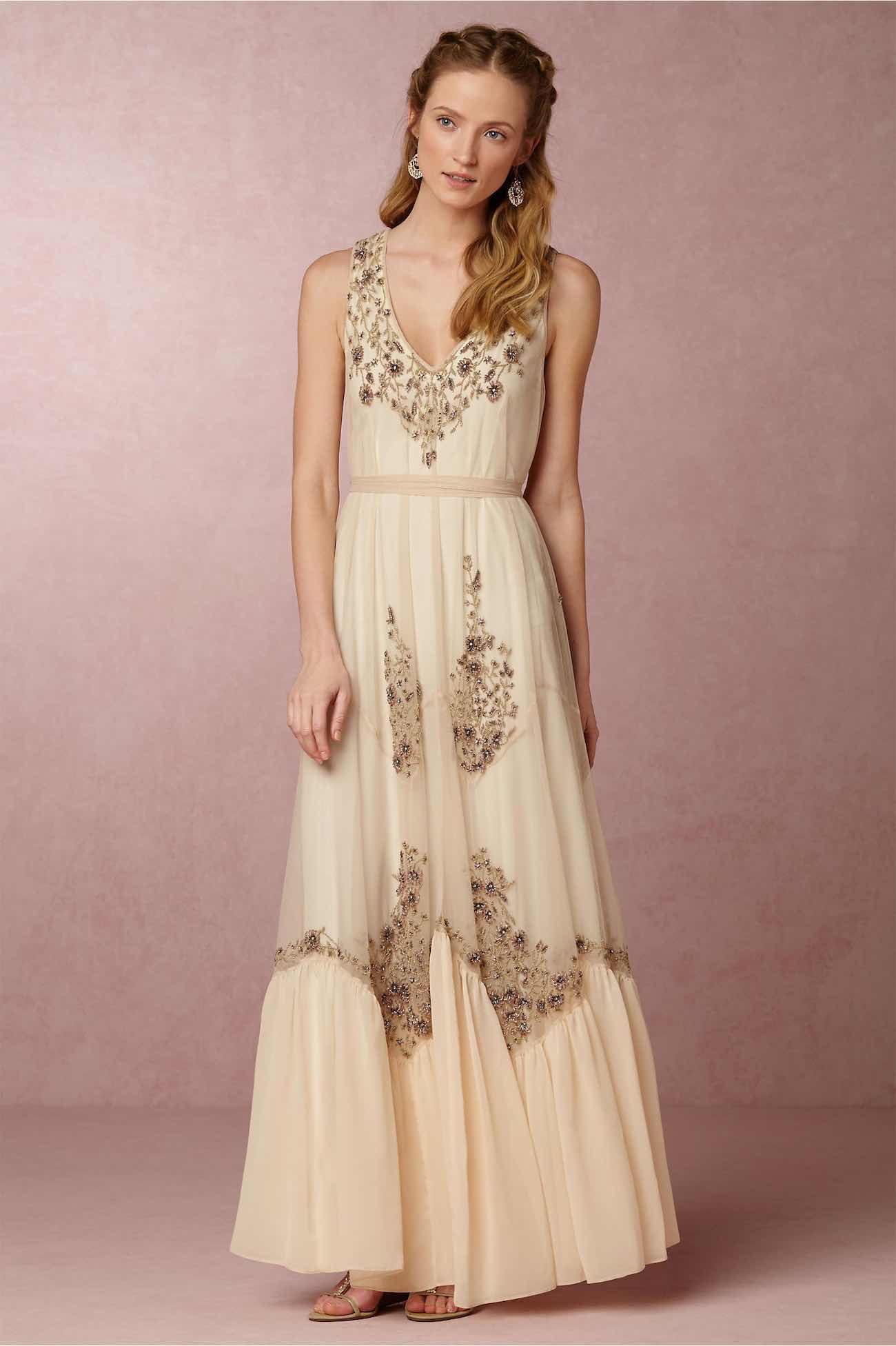 Exquisitely romantic bohemian wedding dresses 16 for Romantic bohemian wedding dresses