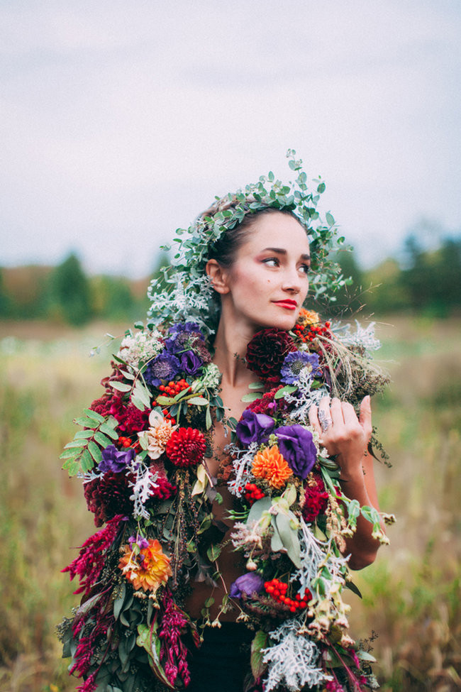 Fall Harvest Bohemian Engagement - Artemis Photography