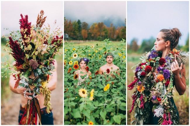 Fall Harvest Bohemian Engagement {Artemis Photography}