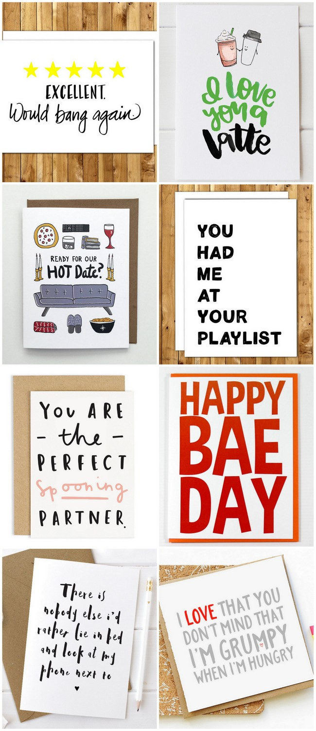 We've found cute + funny Valentines cards for spooners, hangry other halves, introverts, chronic social media scrollers + guac lovers too.