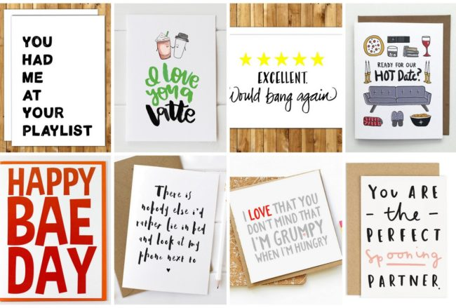 18 Totally Naughty + Funny Valentines Cards for Him (or Her)