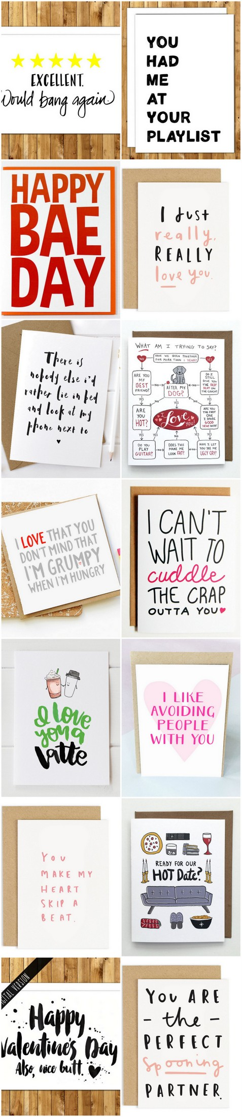 Totally Naughty Funny Valentines Cards For Him Or Her - 8 funny valentines cards for single people
