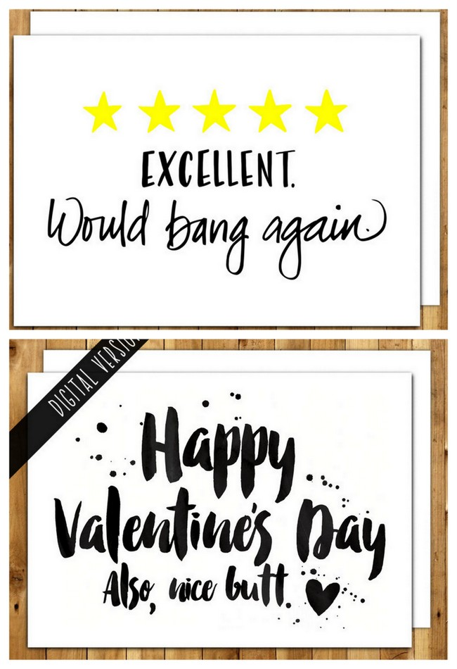 Funny Boyfriend Valentine's Card I Love You With All My Bum Valentine's Card