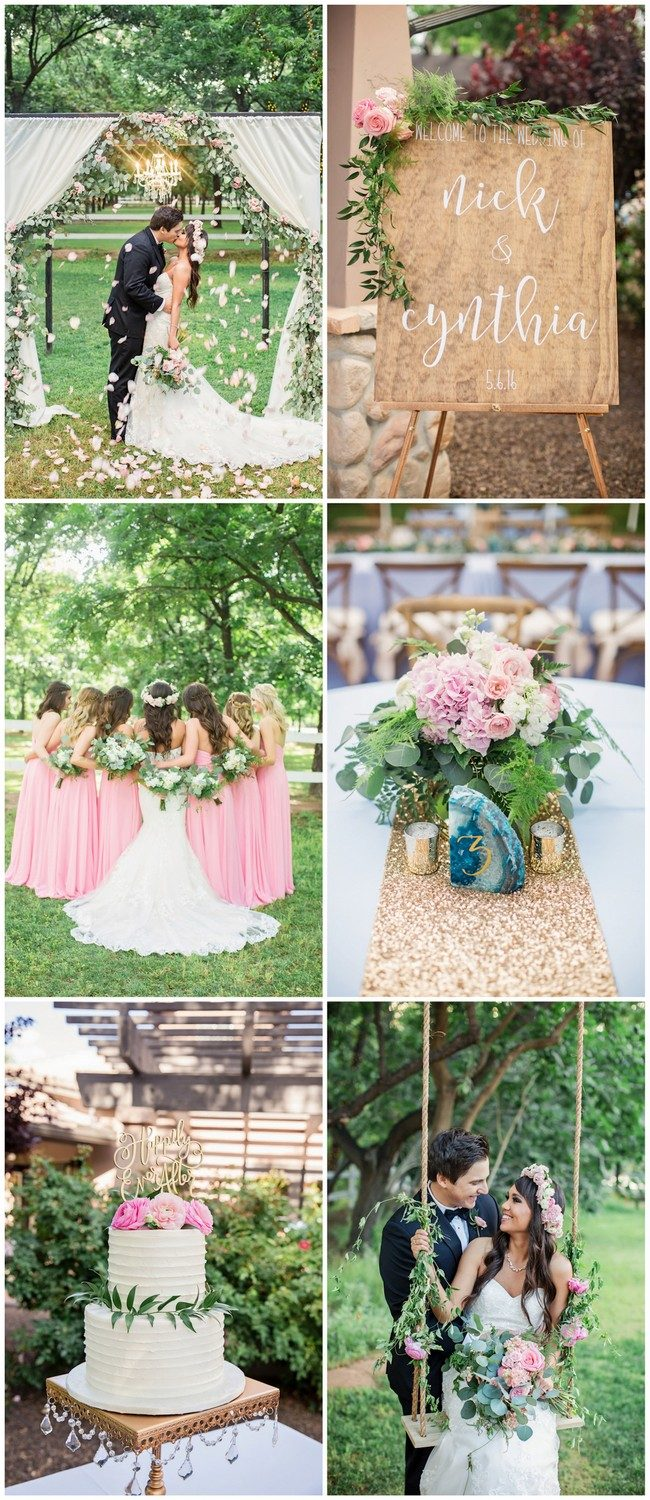 Garden Wedding in Arizona