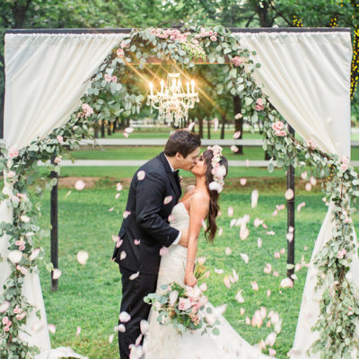 Romantic Garden Wedding in Arizona {Jessica Q Photography}