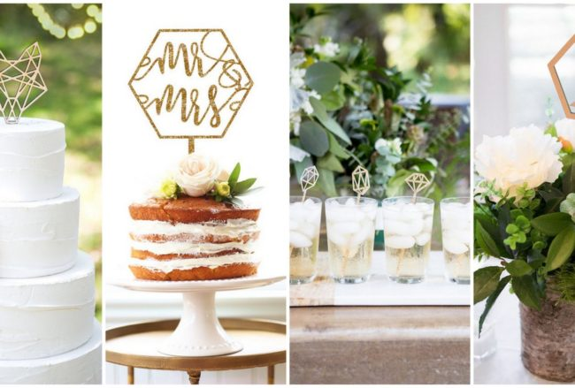 15 Geometric Wedding Ideas You Need In Your Life!