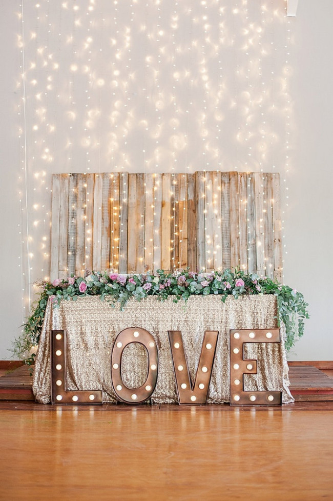 Glitter Wedding Ideas - D'amor Photography