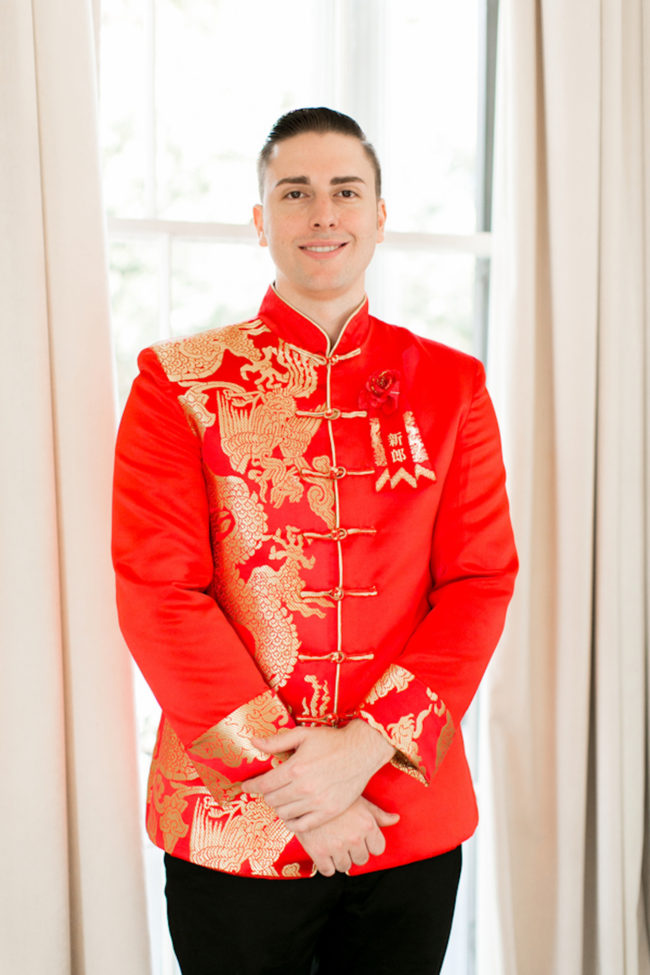 Gold Red Chinese Tea Ceremony Wedding - Captured by Arte De Vie