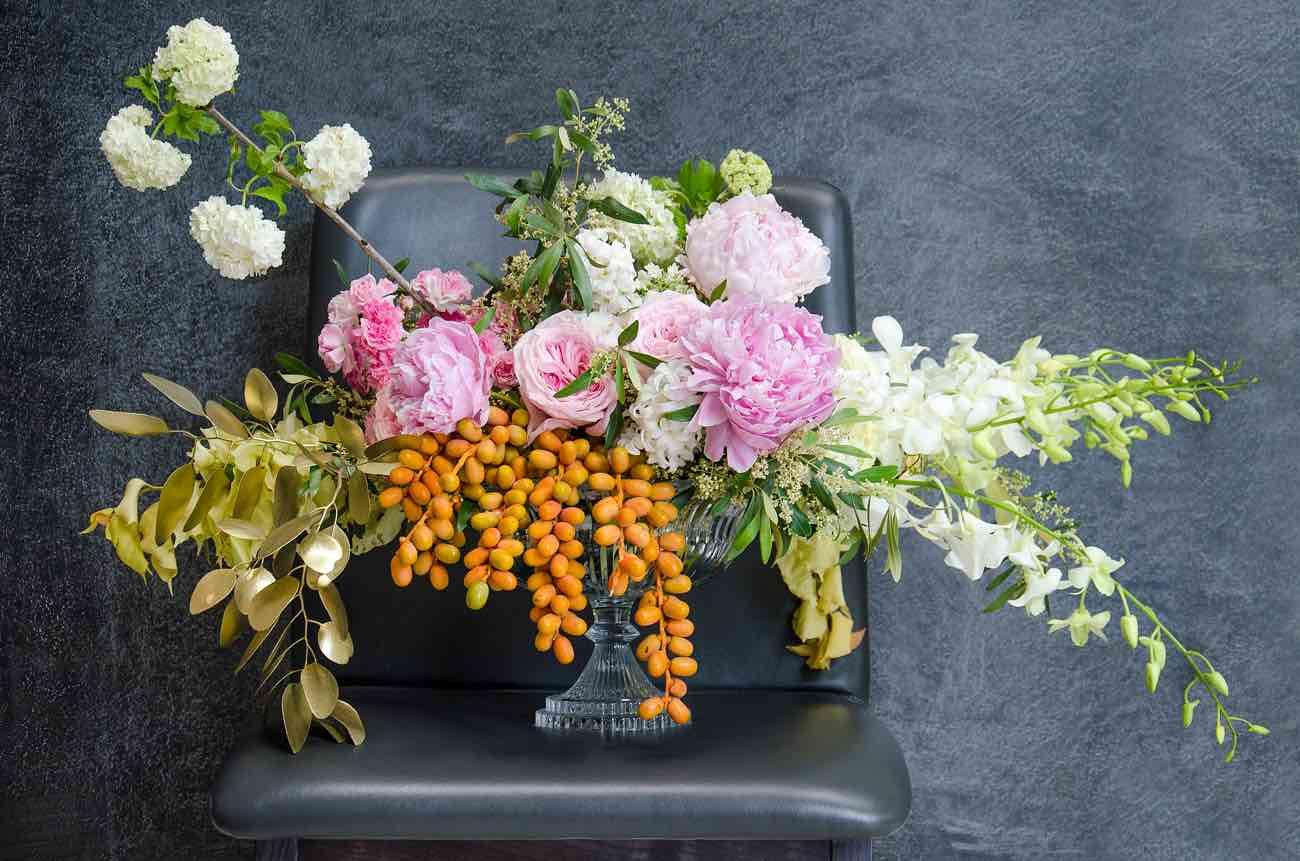 Vibrant Grapefruit, Yellow, Coral and Citrus wedding decor ideas - Kaitlyn de Villiers photography