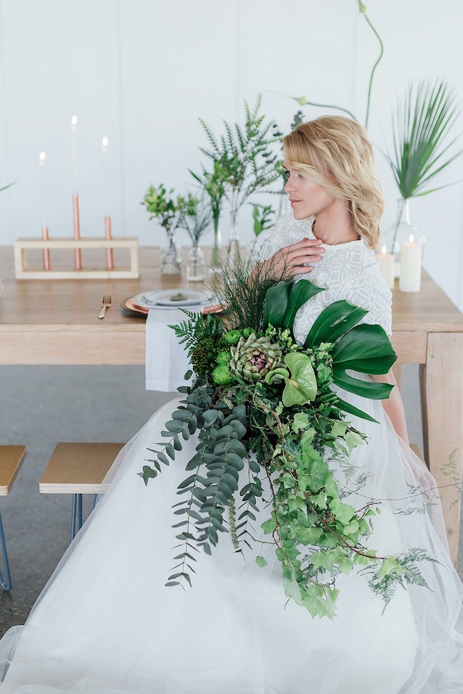 Greenery and Copper Wedding 19