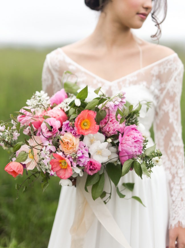 How to make a hand tied garden bouquet