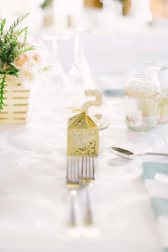 Handmade Pink Gold Glitter Wedding - Geneviève Fundaro Fine Art Photography