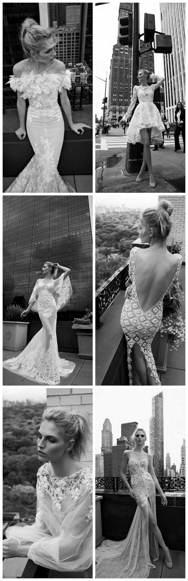 Inbal Dror's 2016 Wedding Dress Collection inspired by New York!
