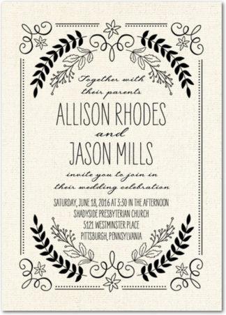 Super easy wedding invitation wording breakdown wedding invitation wording junglespirit Choice Image