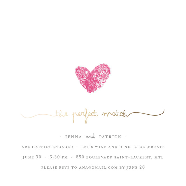 22 Engagement Party Invitations You\'ll Want to \'Say Yes\' to!