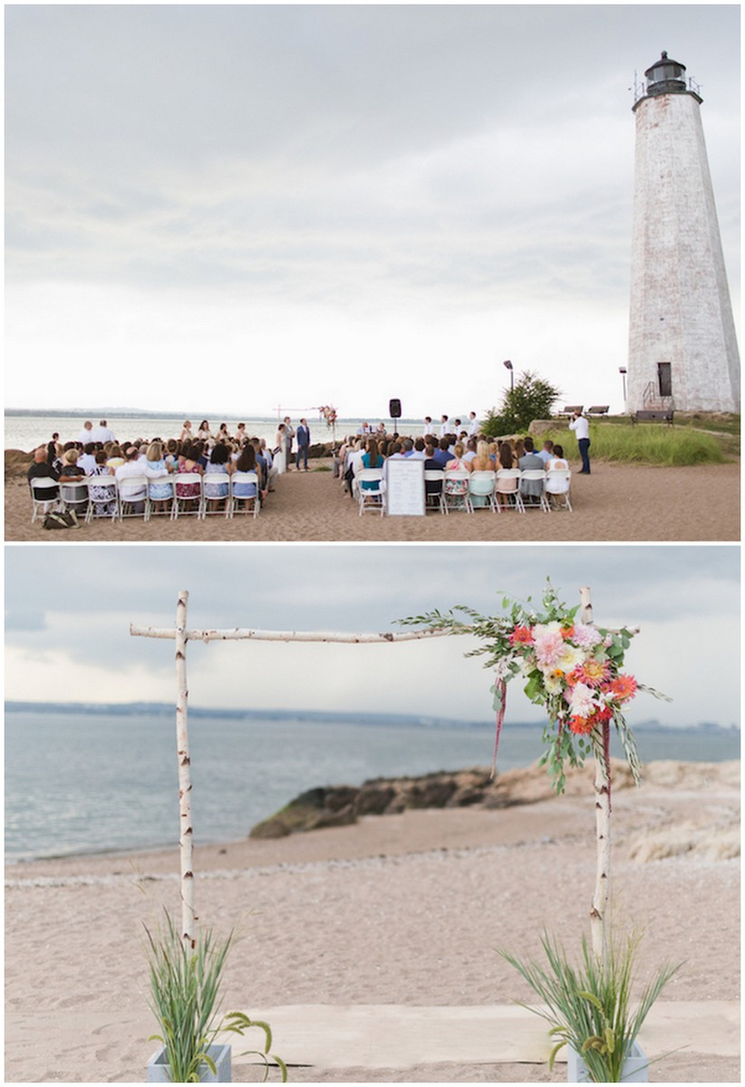 Lighthouse Wedding Connecticut