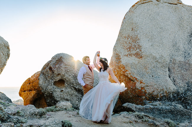 Llandudno Beach Wedding Photographs