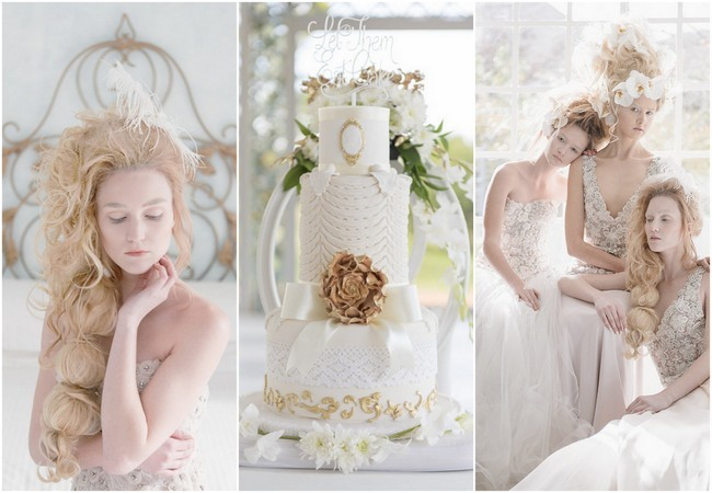 Marie Antoinette Wedding Ideas - ST Photography