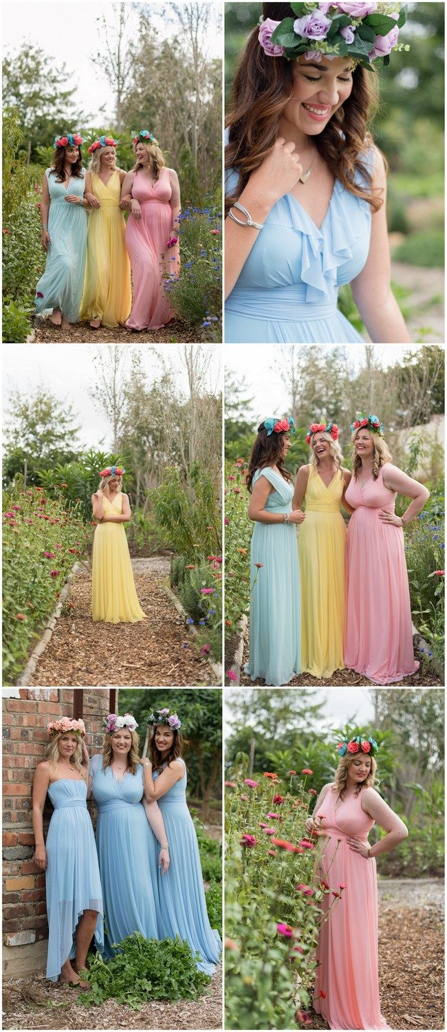 Tips for choosing beautiful Mix and Match Spring Bridesmaid dresses: https://confettidaydreams.com/mix-and-match-spring-bridesmaid-dresses/