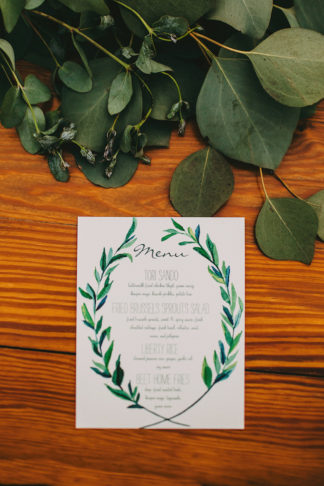 Organic Texas Hill Country Wedding