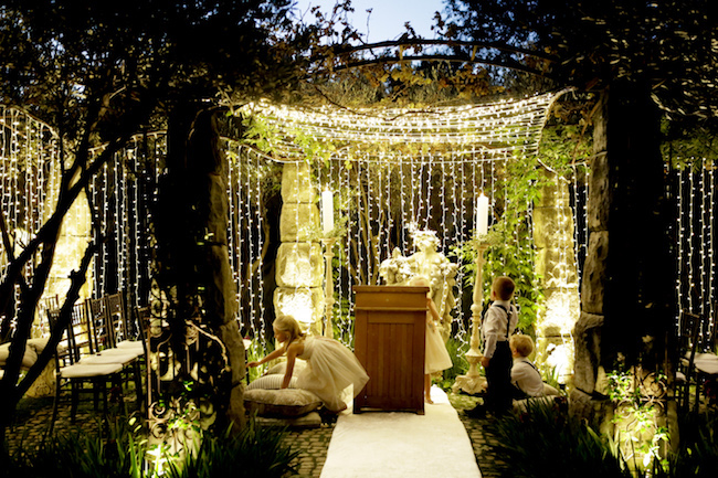 Image result for outdoor night wedding