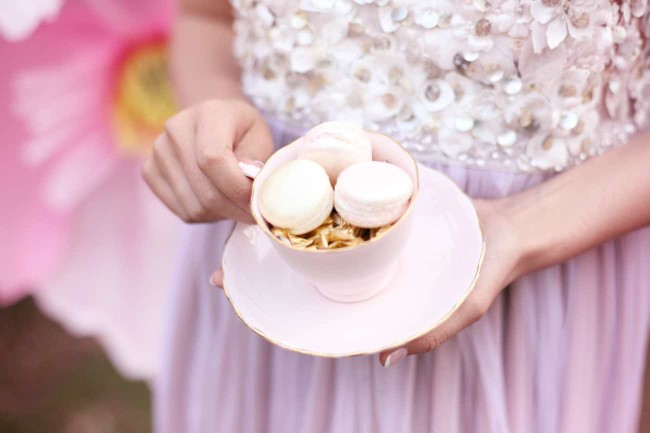 Whimsical Pink Alice in Wonderland Wedding - Hello Love Photography
