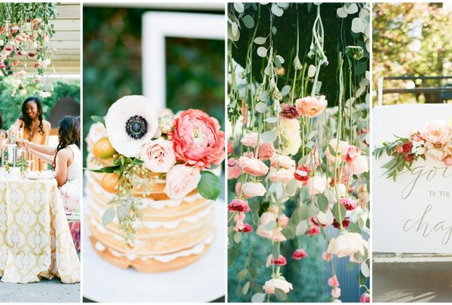 How to Plan a Gorgeous Bridal Luncheon For Your Bridesmaids! {SMM Photography}