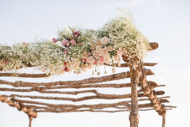 Dreamy Blush Punta Mita Destination Beach Wedding