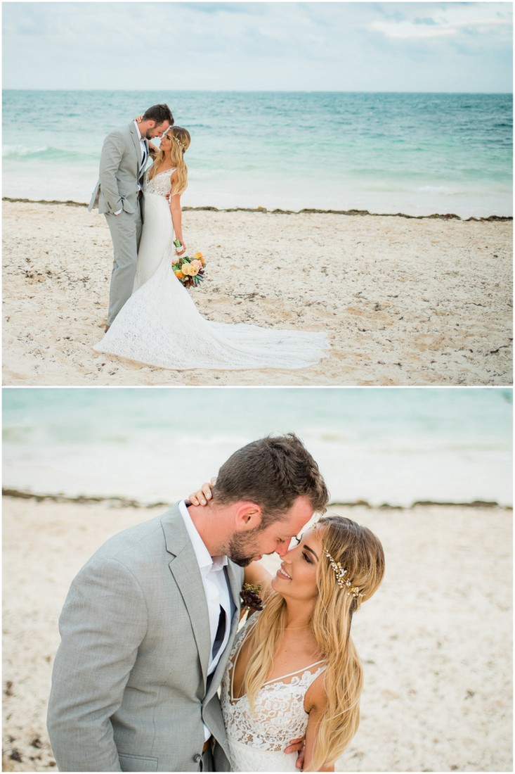 Riviera Cancun Beach Wedding