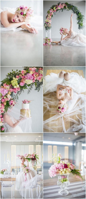 Romantic Ballerina Ballet Bride Wedding
