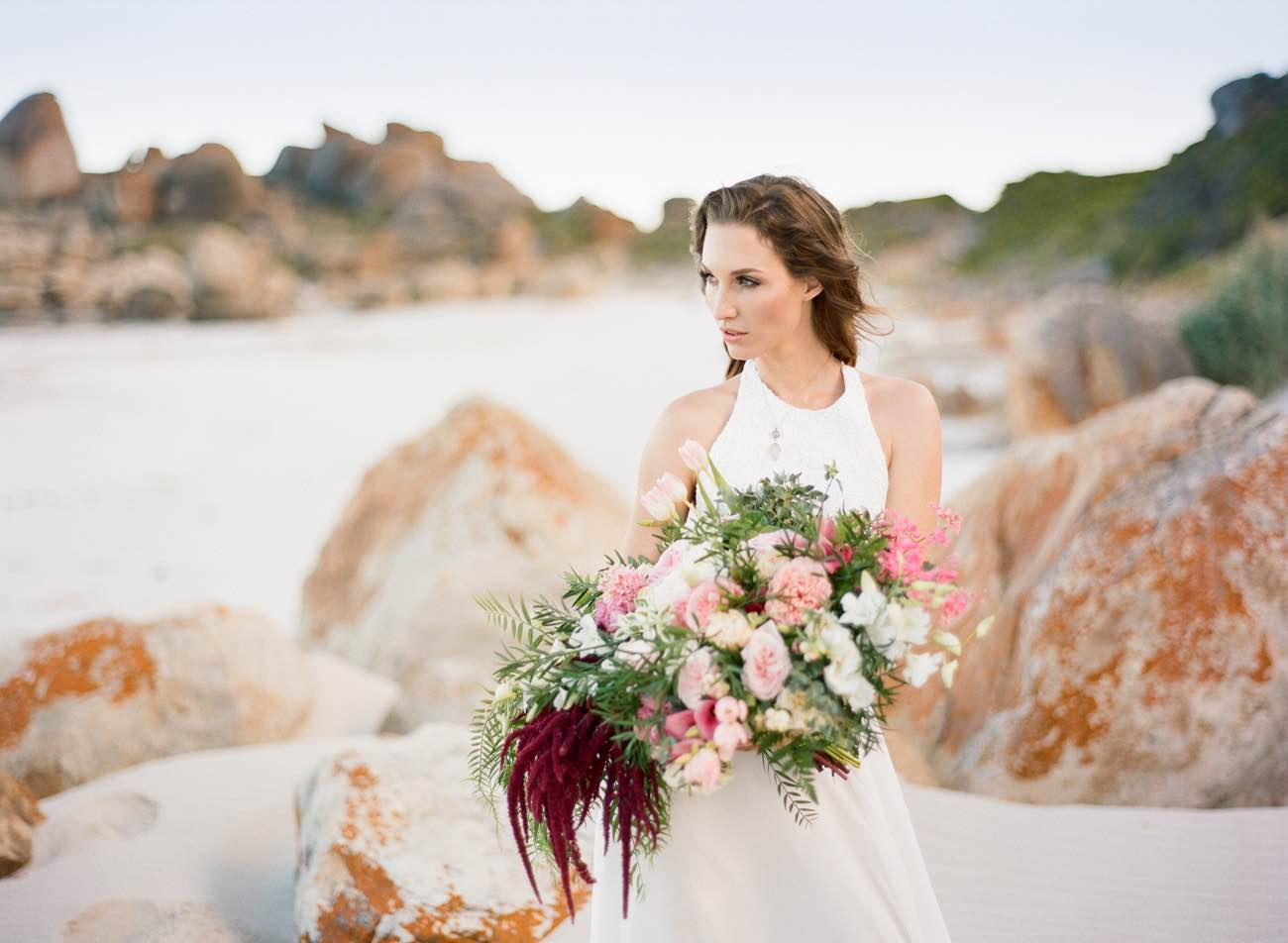 Romantic Cape Town Beach Bride - Emily Katharine Photography
