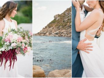 Romantic Cape Town Beach Bride {Emily Katharine Photography}