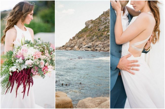 Romantic Cape Town Beach Bride {Emily Katharine Photography}