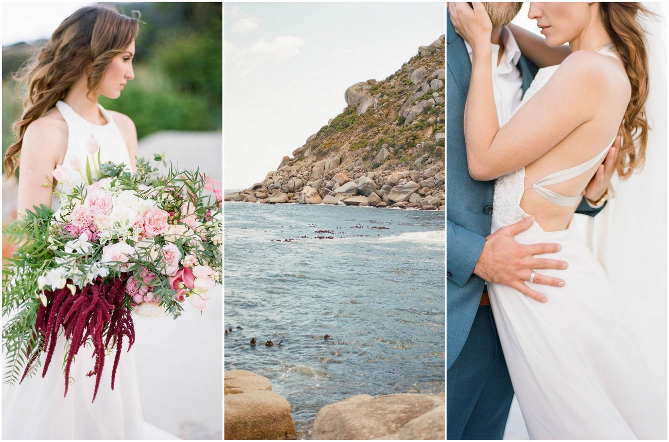 Romantic Cape Town Beach Bride {The Ganeys}