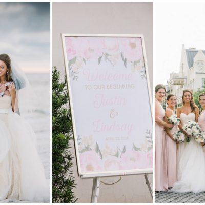 Romantic, Elegant Rosemary Beach Wedding ☀️ {dear wesleyann Photography}
