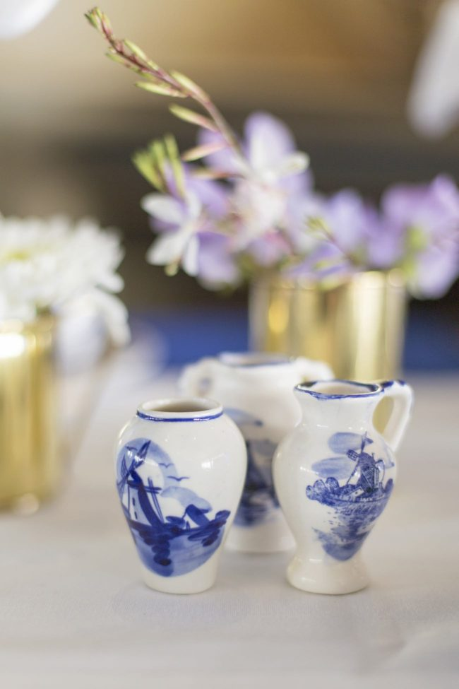 Royal Blue Gold White Grecian Inspired Wedding Ideas