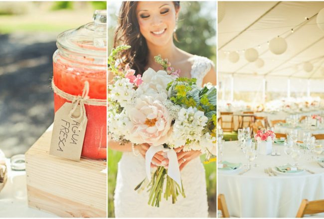 Rustic Southern California Vineyard Wedding {Orange Turtle Photography}